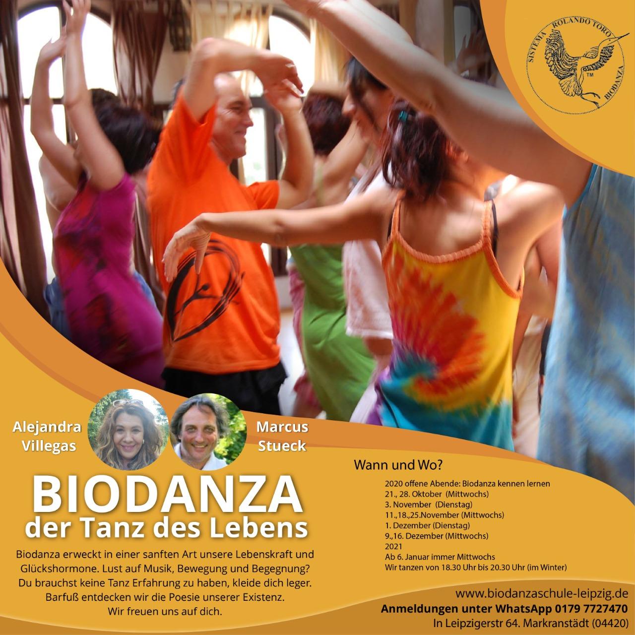 Biodanza-Flyer